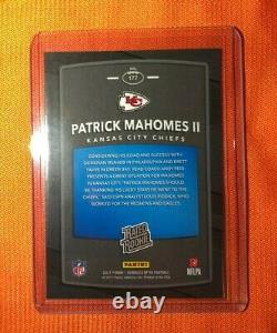 2017 Panini Donruss Optic Rated Rookie #177 PATRICK MAHOMES II KC Chiefs invest