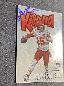 2020 Panini Absolute KABOOM! PATRICK MAHOMES Kansas City Chiefs Football Card