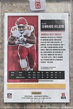2020 Panini Contenders CLYDE EDWARDS-HELAIRE Rookie RC Ticket Auto! CHIEFS! HOT