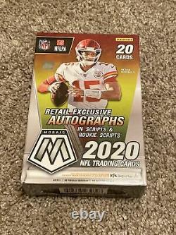 2020 Panini Mosaic NFL Football Hanger Box Factory Sealed SHIPS FAST