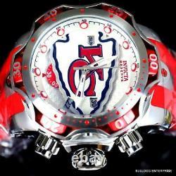 Invicta NFL Kansas City Chiefs Venom III 52mm Red Swiss Chronograph Watch New