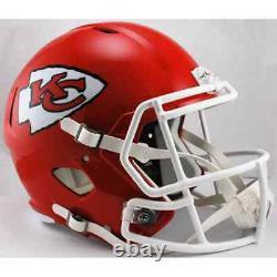 KANSAS CITY CHIEFS NFL Riddell SPEED Full Size Replica Football Helmet