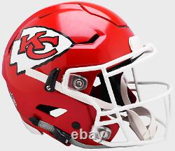 KANSAS CITY CHIEFS NFL Riddell SpeedFlex Full Size Authentic Football Helmet