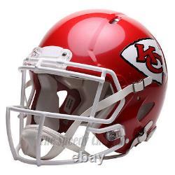 KANSAS CITY CHIEFS Riddell Speed NFL Authentic Football Helmet