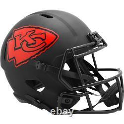 Kansas City Chiefs Full Size Eclipse Speed Replica Helmet New In Box 26137