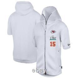 Nike Patrick Mahomes Kansas City Chiefs Men's Super Bowl LIV Media Night Hoodie