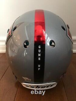 PATRICK MAHOMES Autographed Texas Tech Grey Authentic Schutt Helmet FANATICS COA