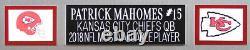 Patrick Mahomes Autographed & Framed Red Chiefs Jersey Auto JSA COA