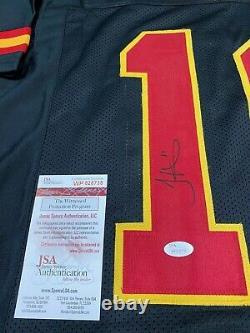 Tyreek Hill Kansas City Chiefs Signed Custom Black Stitch Jersey Jsa Witness Coa