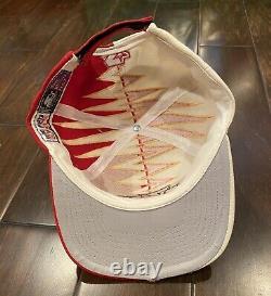 Vintage 90s Kansas City Chiefs Starter Shockwave Hat NWT Sharks Tooth Proline