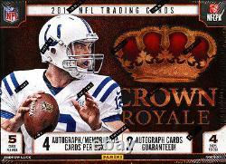 2013 Panini Crown Royale Football Hobby Cas 12-box