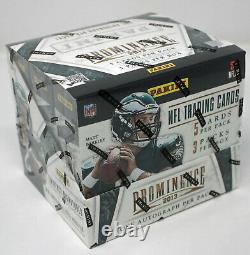2013 Panini Prominence Football Hobby Box 3 Autos Trouver Kelce & Hopkins Rc