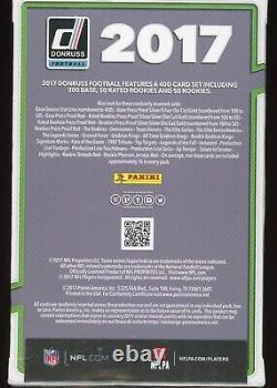 2017 Donruss Football 50 Carte Usine Scellée Green Hanger Box Mahomets Watson Rc