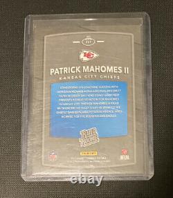 2017 NFL Donruss Patrick Mahomes Rookie Coté Rc #327