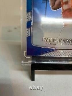 2017 Patrick Mahomes II Panini Donruss Optic Rated Rookie Rc #177