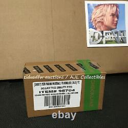 2020 L'usine Scellée Donruss Football Dollar Tree Feed Box 48 Packs