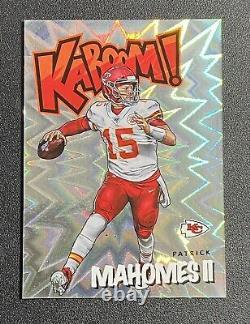 2020 Panini Absolute Kaboom! Patrick Mahomes Kansas City Chiefs Carte De Football