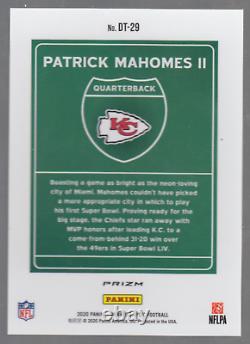 2020 Panini Donruss Optic Patrick Mahomes II Downtown Super Bowl Variation
