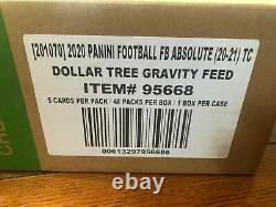 2020 Usine Scellée Absolute Football Dollar Arbre De Gravité Boîte D'alimentation 48 Paquets