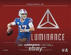 2021 Panini Luminance Football Hobby Box Seled Trevor