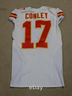 Chris Conley Jeu Worn Jersey Kansas City Chiefs Géorgie
