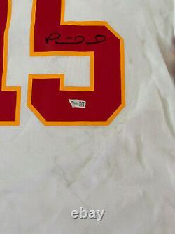 Kansas City Chiefs Patrick Mahomes Autographed Nike Jersey Fanatics Hologramme