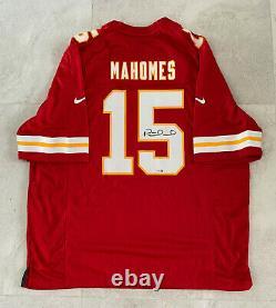 Kansas City Chiefs Patrick Mahomes Signé Nike Game Jersey Fanatics Hologram