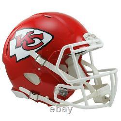 Kansas City Chiefs Riddell Speed NFL Casque De Football Authentique