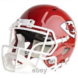 Kansas City Chiefs Riddell Speed NFL Full Size Replica Casque De Football