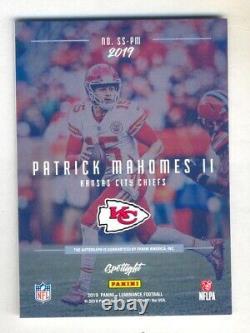 Patrick Mahomes 2019 Panini Luminance Auto Autograph #3/25 Chiefs