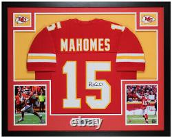 Patrick Mahomes Autographié & Framed Red Chiefs Jersey Auto Jsa Coa