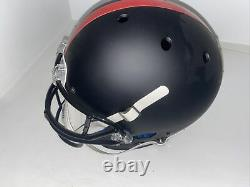 Patrick Mahomes Autographié Kansas City Chiefs Blackout Full Size Rep Helmet Jsa