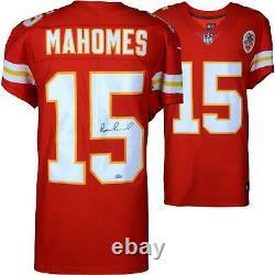 Patrick Mahomes Kansas City Chiefs Autographié Red Nike Elite Jersey
