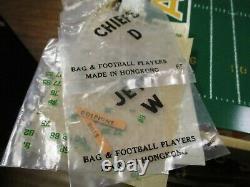 Rare 1968 Tudor Afl Electric Football Game Kansas City Chiefs Vs Jets Works
