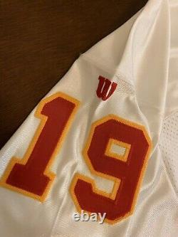 Rare Vintage Wilson Pro Line NFL Kansas City Chiefs Joe Montana Football Jersey
