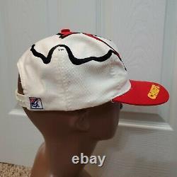 Vintage 90s Kansas City Chiefs Snapback Hat Le Jeu Big Logo Arrowhead NFL