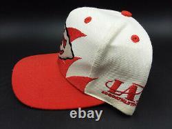 Vintage Des Années 1990 Kansas City Chiefs Sharktooth Snapback Hat Logo Athletic Logo 7