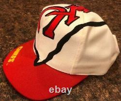 Vintage Kansas City Chefs Snapback Hat Le Jeu Big Logo Arrowhead NFL Taiwan